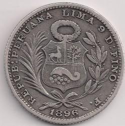 Pièce > ⅕sol, 1888-1917 - Pérou  - obverse