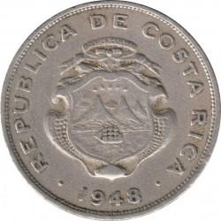 Münze > 50Centimos, 1937-1948 - Costa Rica  - obverse