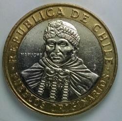 Moneda > 100pesos, 2011 - Chile  - obverse