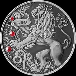 Moneta > 20rubli, 2015 - Białoruś  (Znaki zodiaku - Lew) - reverse