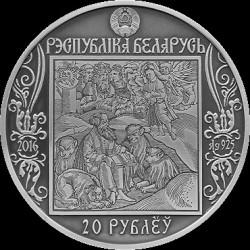 Moneda > 20rublos, 2016 - Bielorrusia  (Camíno de Scorina - Venecia) - obverse