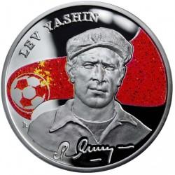 Moneda > 100dram, 2008 - Armenia  (Los Reyes del Fútbol - Lev Yashin) - reverse