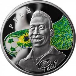 Moneda > 100dram, 2008 - Armenia  (Los Reyes del Fútbol - Pelé) - reverse