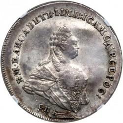 Mynt > 1poltina, 1742-1761 - Ryssland  - obverse