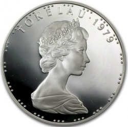 Moneda > 1dólar, 1979 - Tokelau  - obverse