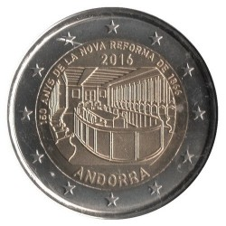 Кованица > 2евра, 2016 - Андора  (150th Anniversary - New Reform 1866) - reverse