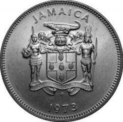 Pièce > 20cents, 1971-1976 - Jamaïque  - obverse