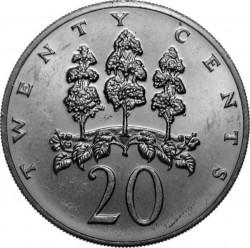 Pièce > 20cents, 1971-1976 - Jamaïque  - reverse