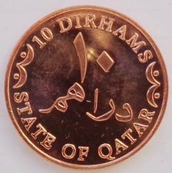 Moneta > 10dirhamų, 2012 - Kataras  - reverse