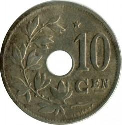 Münze > 10Centimes, 1930-1931 - Belgien  (Legend in Dutch - 'KONINKRIJK BELGIË') - obverse