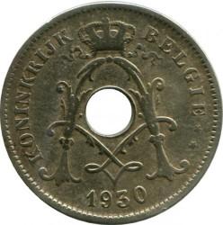 Münze > 10Centimes, 1930-1931 - Belgien  (Legend in Dutch - 'KONINKRIJK BELGIË') - reverse
