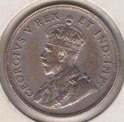 Moneta > 1scellino, 1921-1925 - Africa Britannica Orientale  - obverse