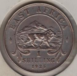 Moneta > 1scellino, 1921-1925 - Africa Britannica Orientale  - reverse