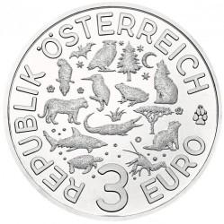 سکه > 3یورو, 2017 - اتریش   (Common Kingfisher) - obverse