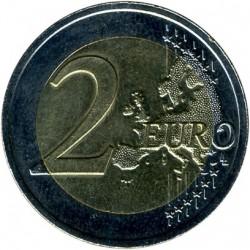 Монета > 2євро, 2016 - Латвія  (Історичні області Латвії - Відземе) - obverse