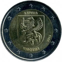 Coin > 2euro, 2016 - Latvia  (Historical Regions of Latvia - Vidzeme) - reverse