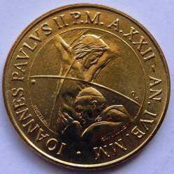 Mynt > 200lire, 2000 - Vatikanstaten  - obverse