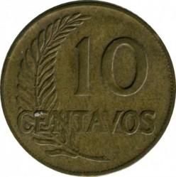 Moneta > 10sentavų, 1963 - Peru  - reverse