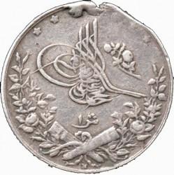 Munt > 1qirsh, 1909 - Egypte  (Diameter 16 mm) - obverse