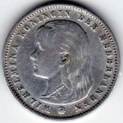 Monēta > 25centi, 1892-1897 - Nīderlande  - obverse