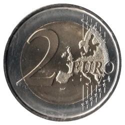 Moneda > 2euros, 2016 - Andorra  (25º Aniversario - Radio y Televisión de Andorra) - reverse