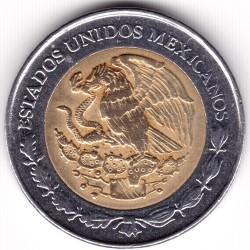 Pièce > 1nouveaupeso, 1993 - Mexique  - reverse