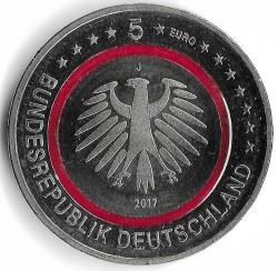 Monēta > 5eiro, 2017 - Vācija  (Tropical Zone) - obverse