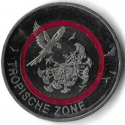 Monēta > 5eiro, 2017 - Vācija  (Tropical Zone) - reverse