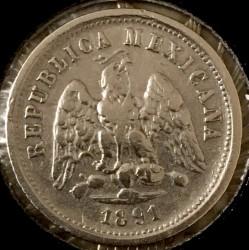Νόμισμα > 10Σεντάβος, 1869-1897 - Μεξικό  - obverse
