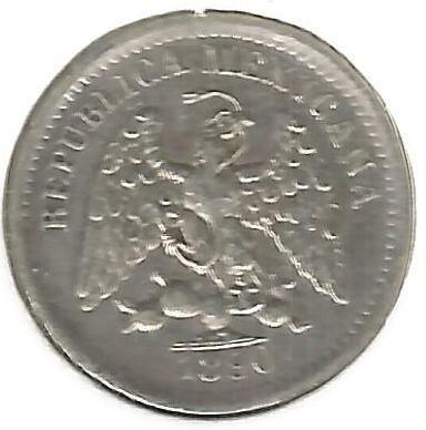 5 centavos 1869-1897, Mexico - Coin value - uCoin net