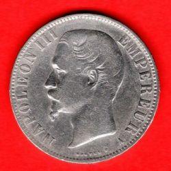 Münze > 5Franken, 1854-1859 - Frankreich  - reverse