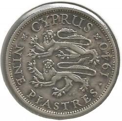 Coin > 9piastres, 1938-1940 - Cyprus  - reverse