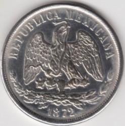 Moneta > 1peso, 1869-1873 - Meksyk  - obverse