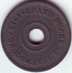 Mynt > 10centimes, 1915 - Luxemburg  - obverse