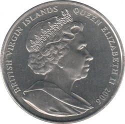 Монета > 1долар, 2006 - Британски Вирджински острови  (George VI) - obverse