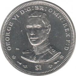 Монета > 1долар, 2006 - Британски Вирджински острови  (George VI) - reverse