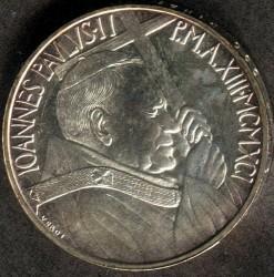 Moneta > 500lirów, 1991 - Watykan  (Doktryna socjalna) - obverse