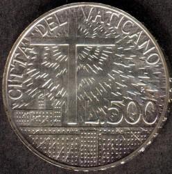 Moneta > 500lirów, 1991 - Watykan  (Doktryna socjalna) - reverse