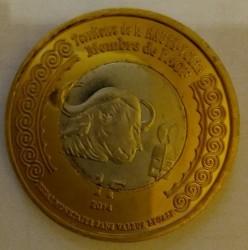 Монета > 1франк, 2014 - Буркина Фасо  (100 лет со дня начала Первой Мировой войны) - obverse