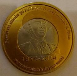 Монета > 1франк, 2014 - Буркина Фасо  (100 лет со дня начала Первой Мировой войны) - reverse