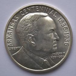 Moneta > ½dollara, 1936 - USA  (100 rocznica - Stan Arkansas, Joseph Taylor Robinson) - obverse