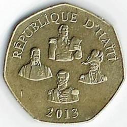 Mynt > 5gourdes, 2013 - Haiti  - obverse