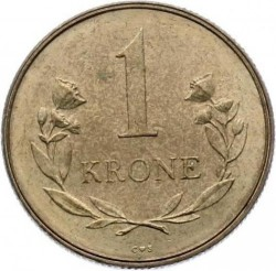 Монета > 1крона, 1957 - Гренландія  - reverse