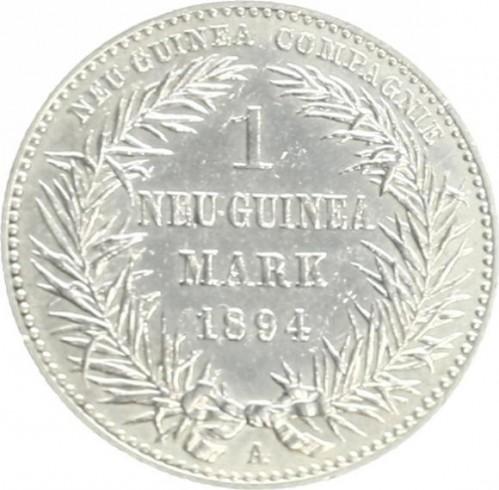 1 Mark 1894 Deutsch Neuguinea Münzen Wert Ucoinnet