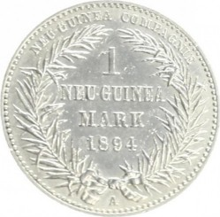 Coin > 1mark, 1894 - German New Guinea  - obverse