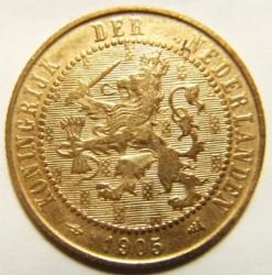 Moneta > 2½centesimi, 1903-1906 - Paesi Bassi  - obverse
