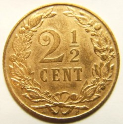 Moneta > 2½centesimi, 1903-1906 - Paesi Bassi  - reverse
