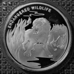 Moneta > 10franków, 2007 - Kongo - KRD  (Zagrożone gatunki - Lew) - reverse