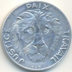Մետաղադրամ > 10ֆրանկ, 1965 -  Կոնգոյի Դեմոկրատական Հանրապետություն  - obverse
