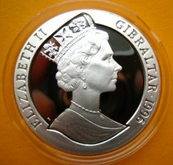 Moneta > 1corona, 1996 - Gibilterra  (UEFA Euro 1996) - obverse
